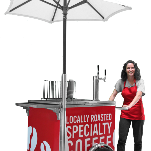 Coffee Cart, Ice Cream Cart, Beer Cart
